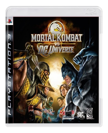 Mortal Kombat Vs Dc Universe Ps3   Mídia Física Original
