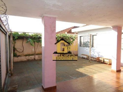 Casa Com 4 Dormitórios À Venda, 191 M² Por R$ 375.000,00 - Independência - Ribeirão Preto/sp - Ca0324