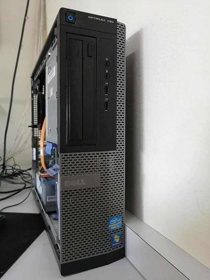 Desktop Dell Optiplex 390 (i3-2ª 4gb Ddr3 500gb 8 Usb Hdmi).