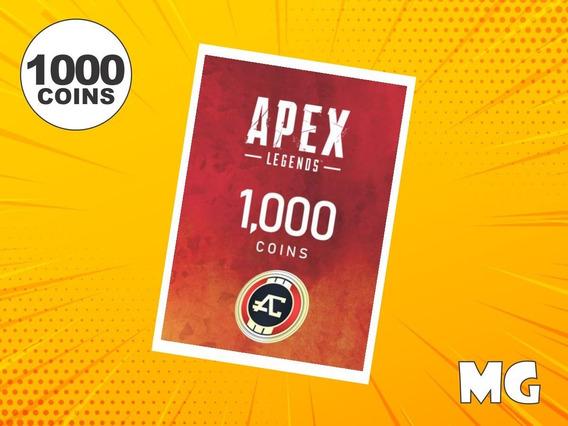 Cartão Apex Legends 1000 Apex Coins