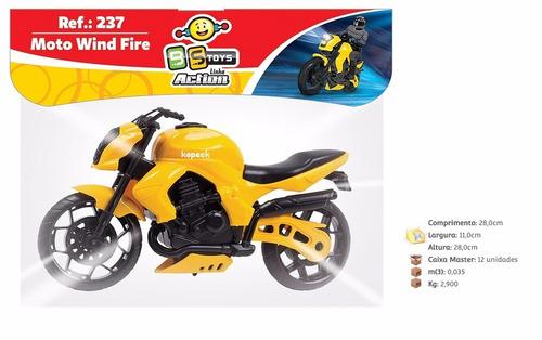 Imagem 1 de 4 de Moto  Wind Fire  - Bstoys Escolha Sua Cor