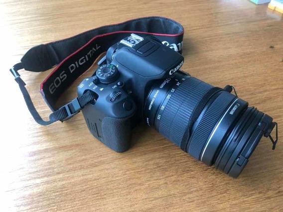 Canon Rebel T5i + Lente 18-135mm + 2 Baterias + Mochila