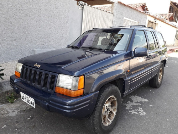 Jeep Grand Cherokee Limited V8 Gnv 220 Cv 1996/97 5p Aut 4x4