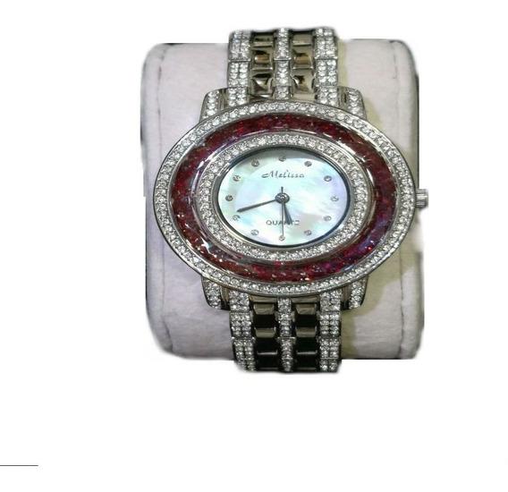 Relógio Feminino Japan Quartz - Cristal Swarovski - Swk009