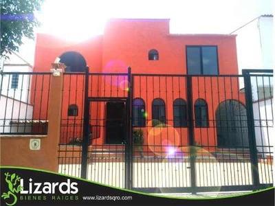 Casa Sola En Renta Privada Juriquilla
