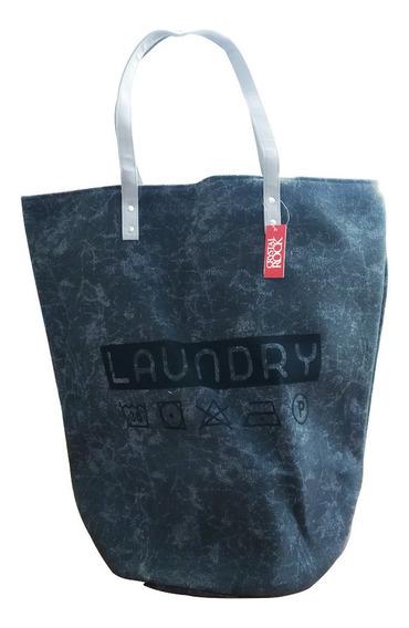 Cesto Canasto Bolso Laundry Lavadero Con Manijas Ropa Sucia