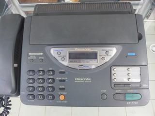 Telefone E Fax Panasonic C/ Secretária Eletrônica (não Liga)