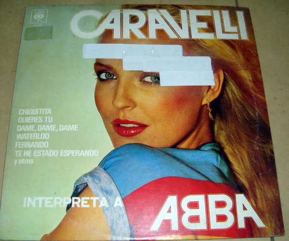 Caravelli Interpreta A Abba Lp Argentino Promo / Kktus