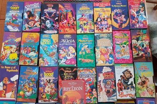 Coleccion 41 Vhs Todo Disney Videofantasia