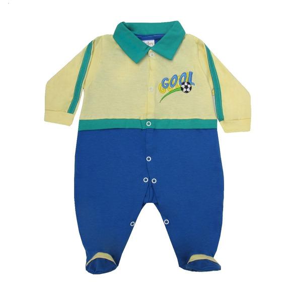 Macacão Do Brasil Infantil - Bebê - Copa Do Mundo 2018