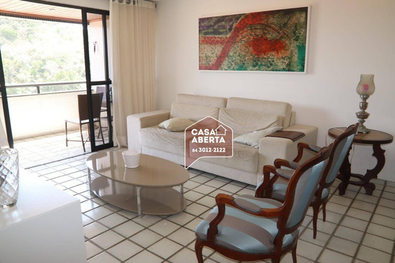 Apartamento Com 4 Dormitórios À Venda, 170 M² Por R$ 580.000,00 - Tirol - Natal/rn - Ap0011