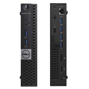 Mini Computador Dell Optiplex 7040 I7 16gb Ddr4 Ssd 240gb