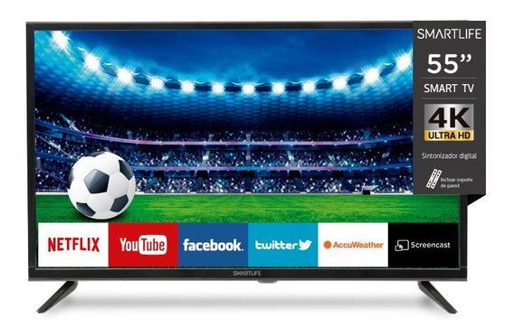 Smart Tv Led Smartlife 55 4 K Uhd-netflix-youtube-wifi