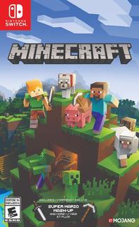 Minecraft Switch(modo Construccion, Supervivenvia) (nuevo)