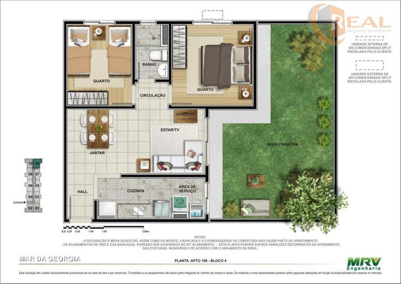 Apartamento Garden Residencial À Venda, Barreto, Macaé. - Gd0001