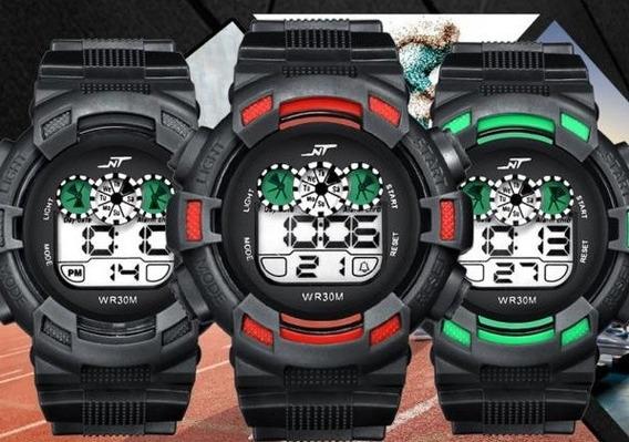 Lote 3 Relojes Digital Nt Deportivos