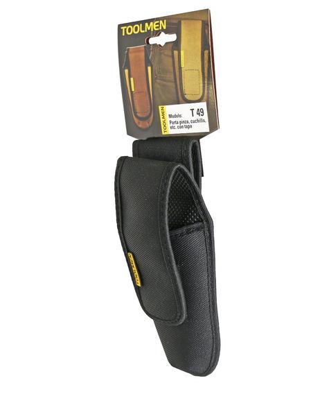 Porta Cutter Cartuchera Toolmen T49 Para Cinturon