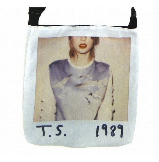 Bolsa Taylor Swift 1989 Oficial Da Loja Tote Grande Exclusivo Lona Nova Original Pronta Entrega Cd Lover Lp Red
