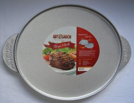 Chapa & Grill Jateada Art&sabor 44,5cm C/ Frete Grátis