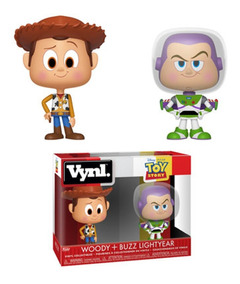 Funko Vynl - Toy Story - Woody & Buzz Lightyear