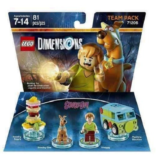 Lego Dimensions Dc Comics Team Pack 71206 Ade Ramos