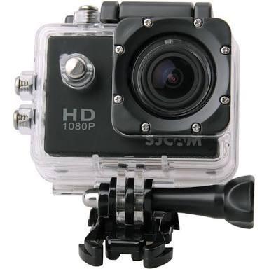 Camera Sj 4000 Nova Para Esportes Kit Completo