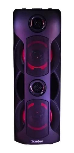 Alto-falante Bomber Party 800 portátil com bluetooth preto 115V/240V