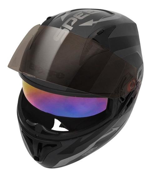 Capacete Para Moto Bieffe B-40 Speed Esportivo Masculino