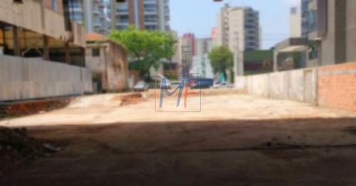 Imagem 1 de 3 de Ref 8781 - Excelente Terreno  Com 1.370 M2 , Medindo 18 M Por 73 M , Muito Bem Localizado No Centro De São Bernardo Do Campo ! - 8781
