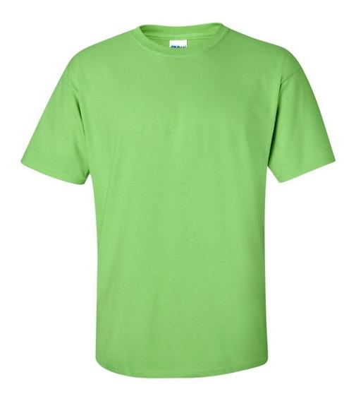 Camisetas Lisa Colorida Por R$9,98 Ou R$14,00 Personalizada