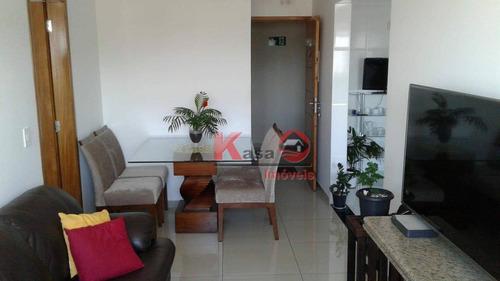 Apartamento Com 1 Dormitório À Venda, 87 M² Por R$ 215.000,00 - Parque Bitaru - São Vicente/sp - Ap10031