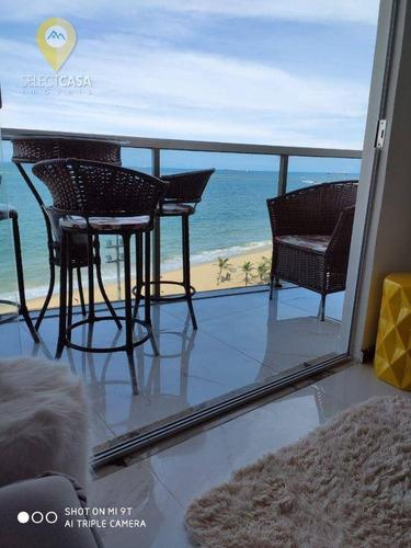 Imagem 1 de 17 de Apartamento 2 Quartos Na Praia Da Costa Com Vista Para O Mar - Ap0592