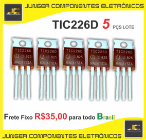 Tic226d -thyristor (triac) = Tic226 = Tic226a = Tic226b