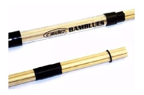 Imagem 1 de 3 de Baqueta Acústica Em Bambu Bamblues C. Ibanez Para Blues Par