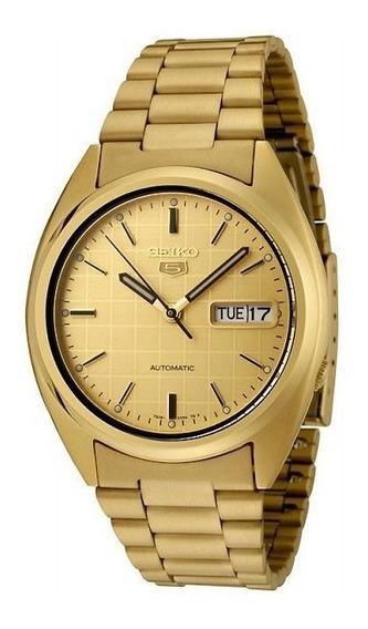 Relógio Automático 21 Jewels Masculino Seiko Snxl72k