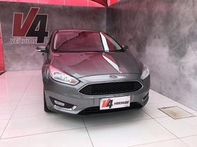 Ford Focus Se 2.0 Powershift 2016 Cinza Flex