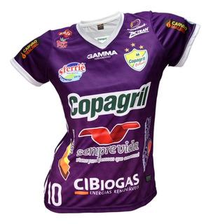 Camisa Feminina Copagril Futsal 2018 - Paraná Uniformes