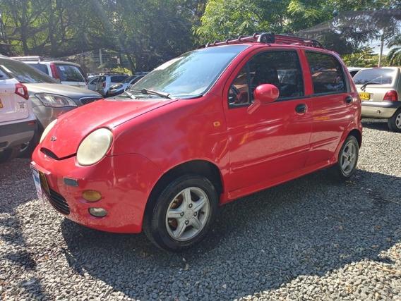 Chery Qq Motor 800 2008 Rojo 5 Puertas