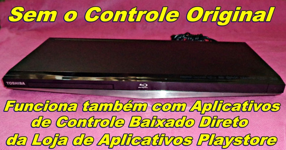 Bluray 3d Toshiba Bdx4350ks Pouco Uso * Sem Controle
