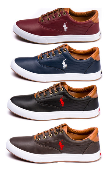 Kit 4 Pares De Sapatênis Polo Way Oferta Exclusiva Barato