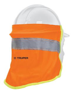 Cubrenuca Para Casco Color Naranja 30 Cm Truper 12355