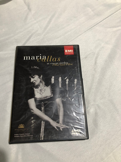 Dvd María Callas At Covent Garden 1962 And 1964. Origen: Arg