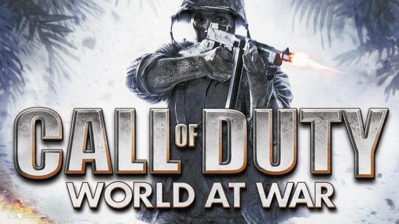 Call Of Duty World At War Xbox One Desconectado