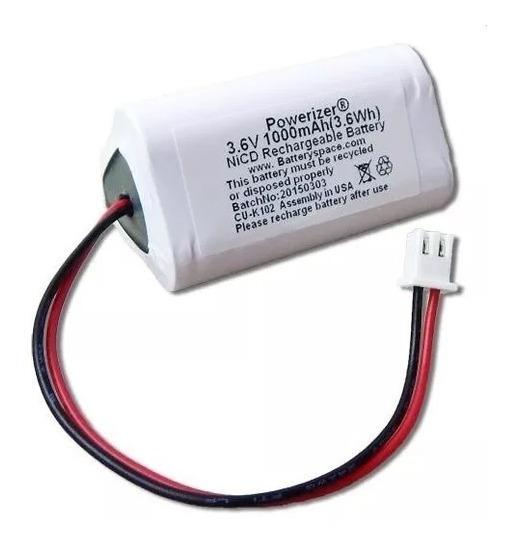 Bateria 3,6v Aa 1000mah Triangular Com Conector Ni-cd