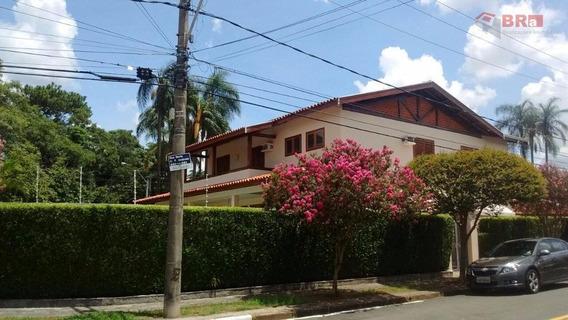 Casa Nova Campinas Locação 4 Dormts Sendo 4 Suítes , 03 Salas, Labavo E Piscina - Nova Campinas - Ca0147