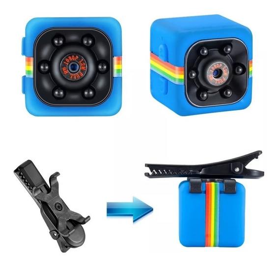 Mini Camara Espia Sport Oculta Hd Seguridad Audio Video Activacion Por Movimiento Bateria Interna Soporta Micro Sd