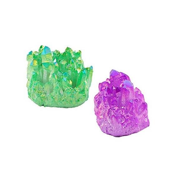 Rockcloud Sanación Con Cristales Pack De 2 Titanio Recubiert