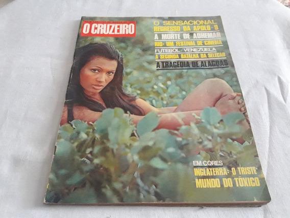 O Cruzeiro 27/03/69 Alagoas/hebe Camargo/miss/apolo-9/novela