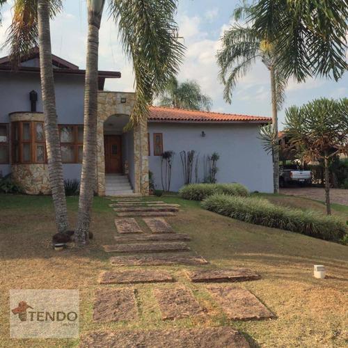 Imagem 1 de 26 de Casa Com 4 Dormitórios À Venda, 450 M² Por R$ 1.995.000,00 - Moradas São Luiz - Salto/sp - Ca0340