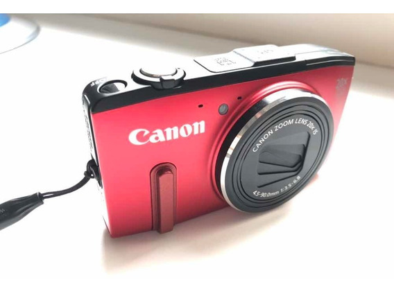 Câmera Canon Sx 280 Hs + Chip 4gb+ Capa